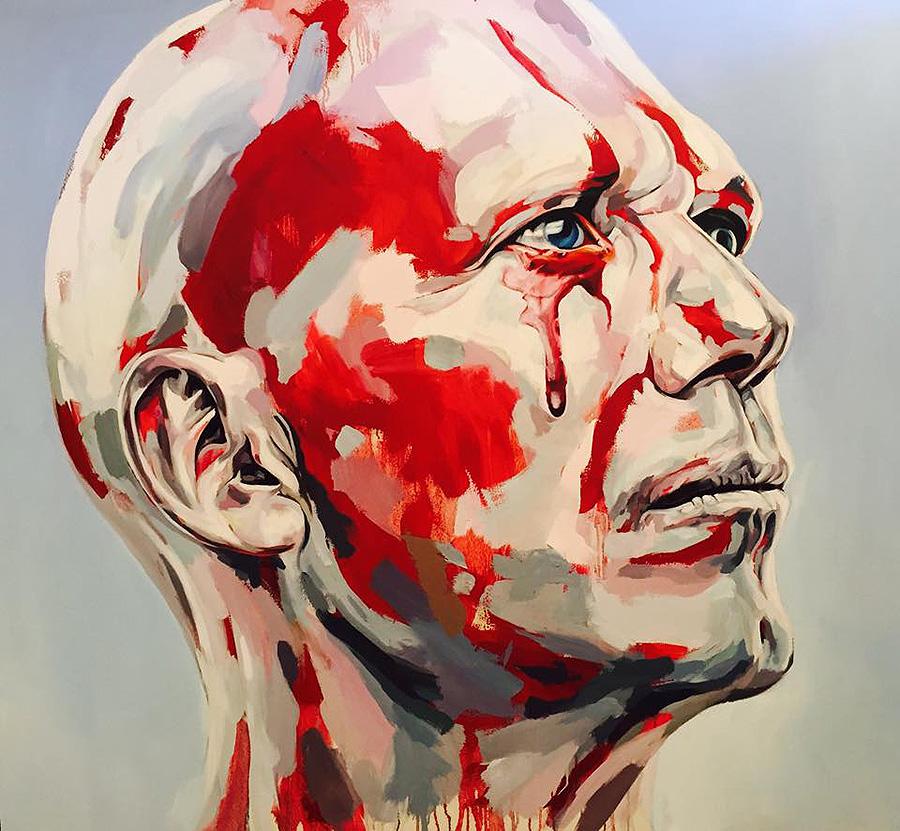 'Tear of Blood' by Duarte Vitória.